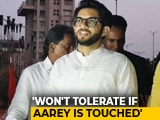 Video : Aaditya Thackeray Targets Mumbai Metro Chief In Fight Over Aarey Car Park
