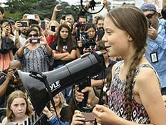 """""""Save Your Praise"""": Teen Climate Activist Asks US Congress For Action"""