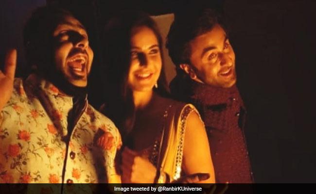 This Pic Of Katrina Kaif, Ranbir Kapoor And Badshah Is Crazy Viral