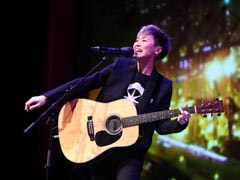 Stand Up To Beijing, Hong Kong Singer Tells US Lawmakers, Companies