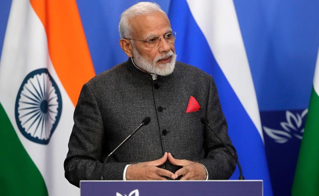 In Russia Speech, PM Modi Highlights India's Target To Be $5 trillion Economy