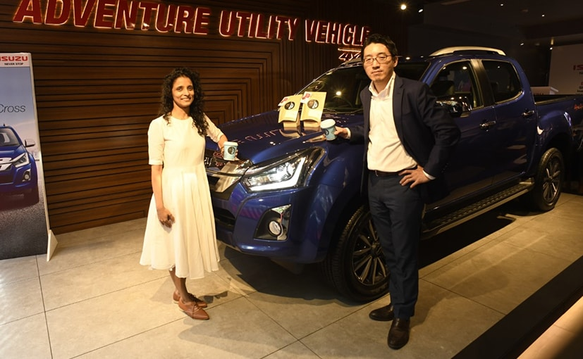 Takeshi Hirano, VP - Sales & Marketing, Isuzu India & Zeenal Shah, Sales Head, Blue Tokai Coffee Roaster