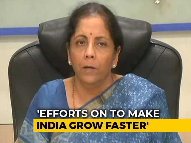 Video : Despite IMF's Projections, India Still Among Fastest Growing Economies: Nirmala Sitharaman