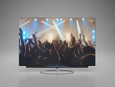 A TV With a Moving Soundbar