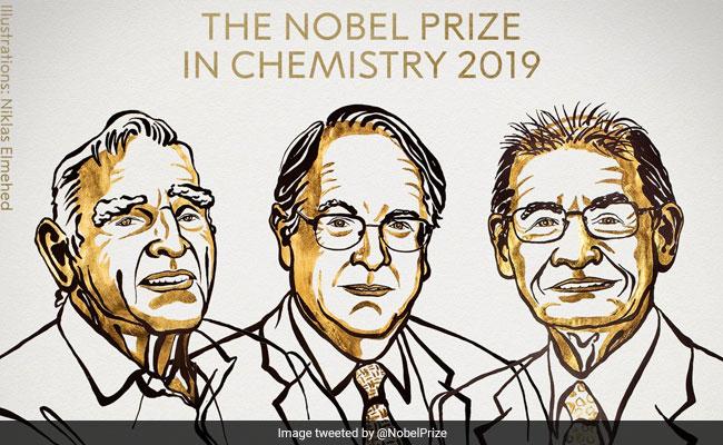 जॉन बी. गुडइनफ, एम. स्टैनली विटिंघम और अकीरा योशिनो को मिला Chemistry का Nobel Prize