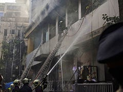 1 Dead, 6 Injured After Fire Breaks Out At Mumbai Building