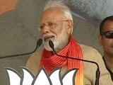 "Video : ""President Xi Told Me He Has Watched <i>Dangal</i>,"" Says PM In Haryana Rally"