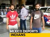 "Video : Mexico Deports Over 300 Indians To Delhi In ""Unprecedented"" Move"