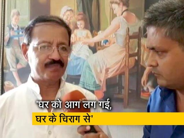 Video : सलमान खुर्शीद पर बयान के लिए बरसे राशिद अल्वी