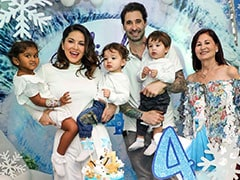 Inside Sunny Leone's Daughter Nisha's <i>Frozen</i>-Themed Birthday Celebrations