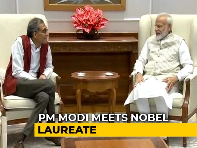 """Video : """"India Proud Of His Accomplishments"""": PM After Meeting Abhijit Banerjee"""