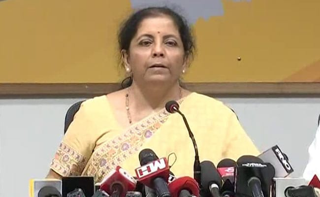 Rise In interest Rates Dependent On India, China Growth: Nirmala Sitharaman