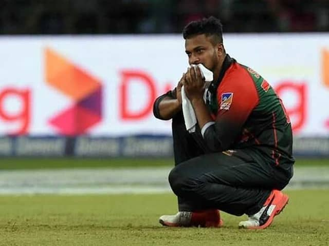 """Shakib Al Hasan Regrets """"Silly Mistake"""" That Led To One-Year Ban"""