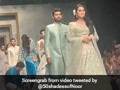 रैम्प वॉक कर रही पाकिस्तानी मॉडल अचानक लड़खड़ाई, साथ चल रहे शख्स ने किया ऐसा... देखें Video