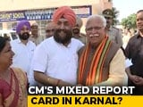 Video : Manohar Lal Khatar Shares A Light Moment With Rival Tarlochan Singh On Polling Day