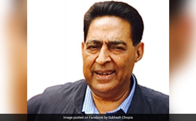 Polls Closing In, Delhi Congress Finally Gets A Chief In Subhash Chopra