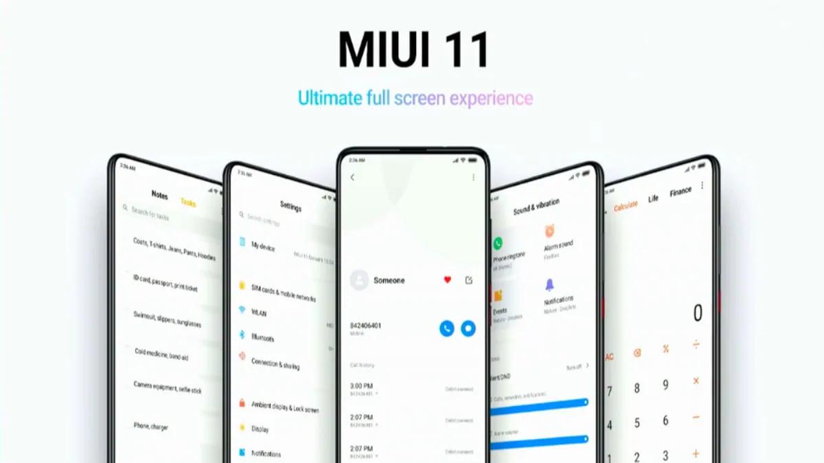 MIUI 11 के साथ मिलेंगे ये नए फीचर्स, इन Xiaomi स्मार्टफोन को मिलने वाला है अपडेट