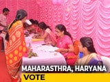 Video : Advantage BJP As Voting Begins In Maharashtra, Haryana