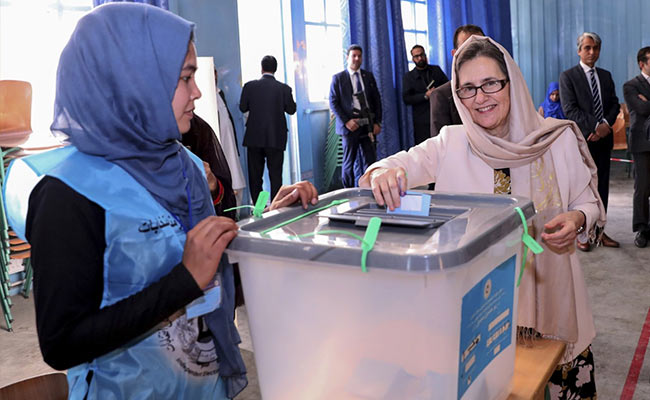 With Nearly All Data In, Afghan Voter Turnout At Record Low