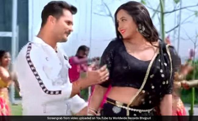 Latest Bhojpuri Video : खेसारी लाल यादव और काजल राघवानी के नए भोजपुरी सॉन्ग की धूम, बार-बार देखा जा रहा रोमांटिक Video