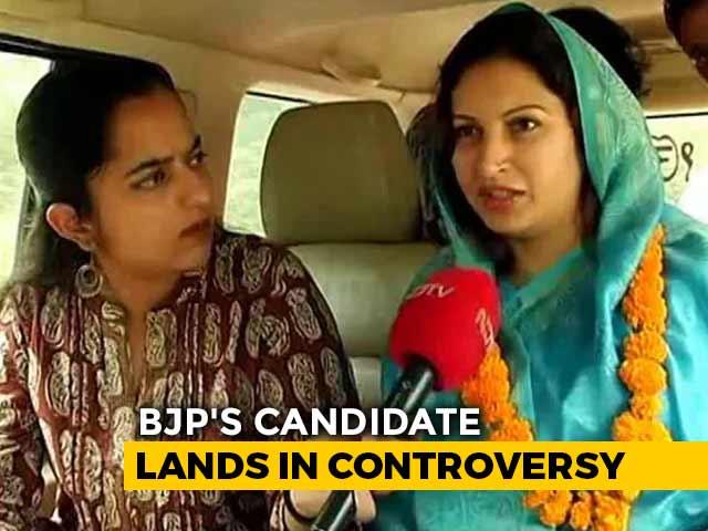 """Video : For Those Who Can't Say """"Bharat Mata Ki Jai"""", BJP Tik Tok Star's Warning"""