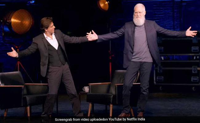 Shah Rukh Khan, Naam Toh Suna Hoga: This David Letterman Guest Definitely Needs No Introduction