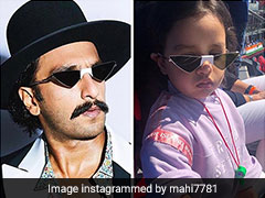 MS Dhoni Amused As Ziva Spots Ranveer Singh Wearing Similar Sunglasses