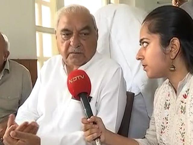 "Video : In 5 years, BJP Only Did ""Event Management"": Congress' Bhupinder Hooda"