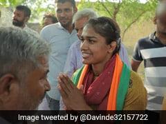 "Haryana Election 2019: ""<i>Beti Bachao, Beti Padhao, Beti Khilao</i>""  If Voted: BJP's Babita Phogat"