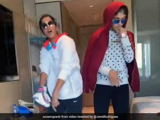 Harmanpreet Kaur की खास उपलब्धि पर जेमिमा रोड्रिगेज और हर्लिन देओल ने बनाया स्पेशल रैप सांग, VIDEO