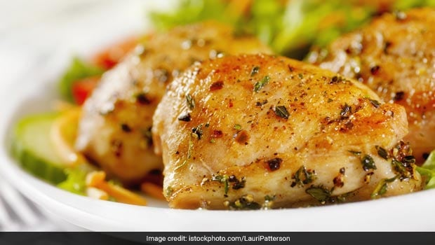 Make This Easy, Healthy Lemon Garlic Chicken WithIn 30 Min