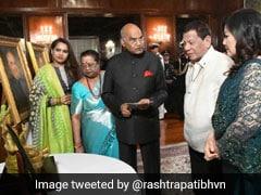 President Kovind Gifts Goddess Tara Statue To Philippine Counterpart
