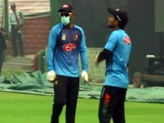 India vs Bangladesh: Bangladesh Player Trains With Pollution Mask Ahead Of 1st T20I In Delhi