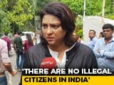 "Video : ""No Citizen Illegal If He Can Vote"": Congress's Priya Dutt On Slums, Rehousing In Mumbai"
