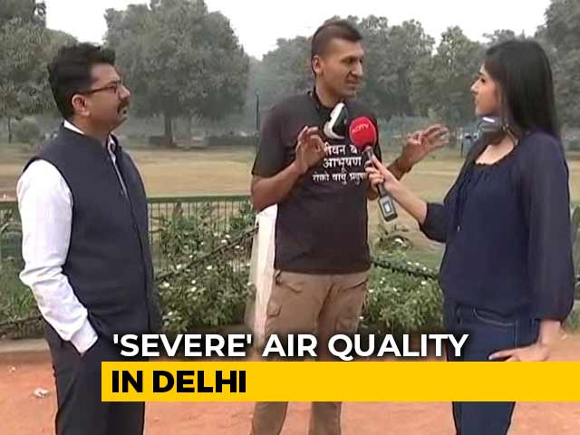 Video: Delhi Inhaling Poison As Air Quality Deteriorates