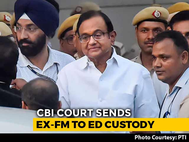 Video : P Chidambaram, Now In Enforcement Directorate Custody, Leaves Tihar Jail