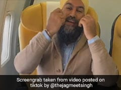 "Sikh MP's ""Cool Way"" To Lure Youngsters For Canada Polls - TikTok Videos"