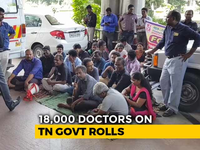 Video : Tamil Nadu Doctors Threaten To Strike From October 25 If Demands Not Met