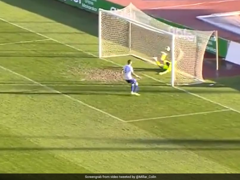 """Watch: Players Celebrate """"Ghost Goal"""", End Up Conceding At The Other End"""