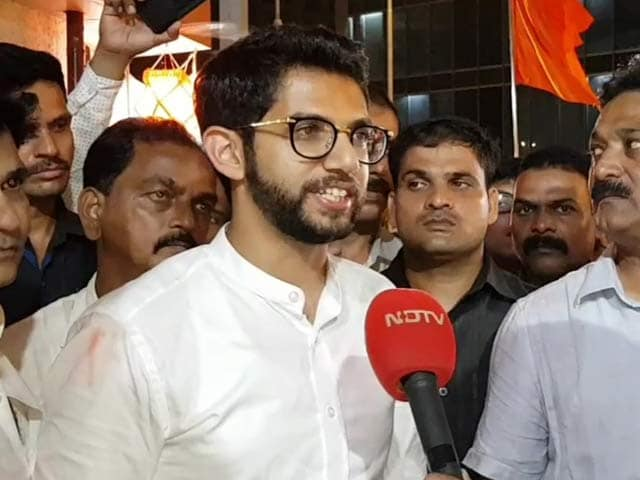 "Video : ""Elected With So Much Love"": Shiv Sena's Aaditya Thackeray To NDTV"