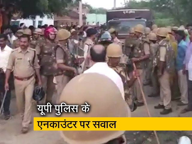 Videos : रवीश कुमार का प्राइम टाइम: पुष्पेंद्र का एनकाउंटर हुआ या हत्या?