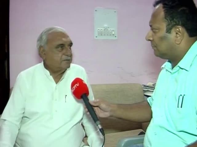 """Video : """"Not Lost Hope But..."""": Bhupinder Hooda On Congress Prospects In Haryana"""