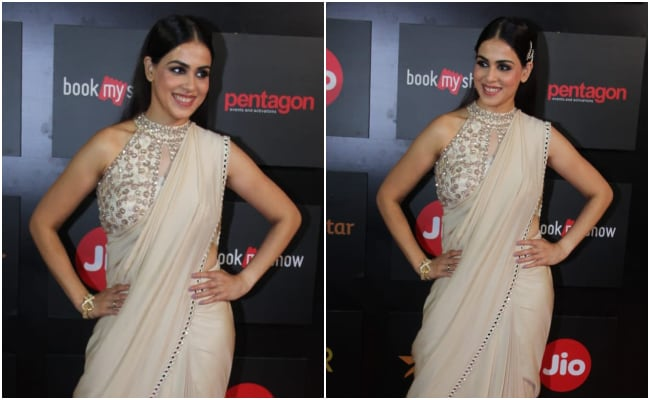 Genelia D'Souza's Neutral <i>Saree</i> Is Anything But Basic