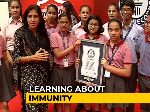 Video : Sponsored: Dabur Immune India Movement - A Guinness World Record
