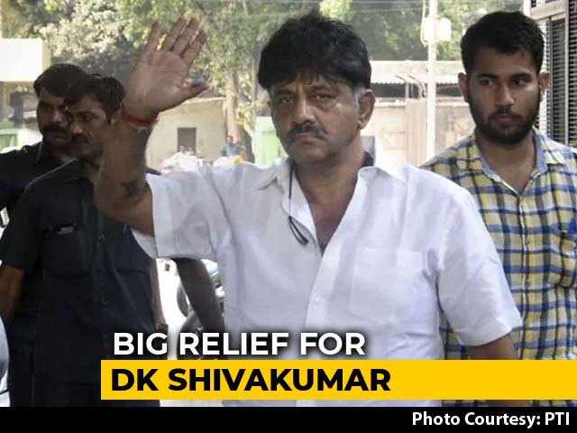 Video : Congress's DK Shivakumar Walks Out of Tihar Jail Hours After Getting Bail