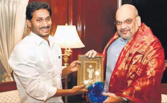 Jagan Mohan Reddy Meets Amit Shah, Raises Special Status Demand For Andhra Pradesh