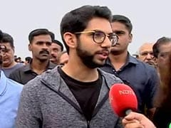 "Maharashtra Election: ""You Are NDTV 24x7, We Work 24x7"": Aaditya Thackeray Campaigns In Worli"