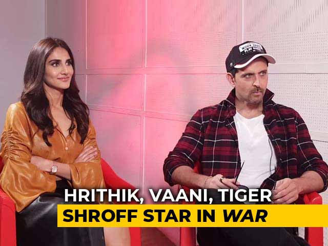 Hrithik Roshan And Vaani Kapoor Talk About Their Action Film War