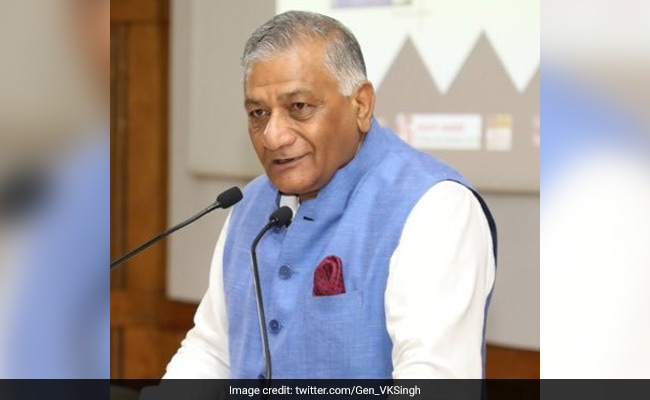 'Bed For My Brother': VK Singh Tweet Sparks Questions On Health System