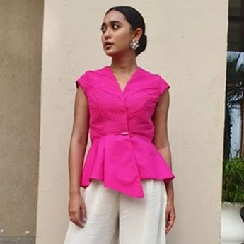 Sayani Gupta Proves That You Can't Go Wrong With A Pop Of Pink